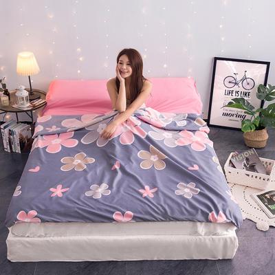 富瑞阁     2020新品隔脏旅行睡袋(120*215cm) 印花系列浪漫花开