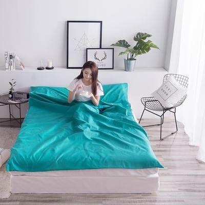 富瑞阁  2019新品   隔脏旅行睡袋(200*215cm) 纯色系列墨绿