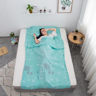 2020新款印花水洗棉旅行睡袋 春物语80*215cm