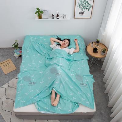 2020新款印花水洗棉旅行睡袋 春物语180*215cm