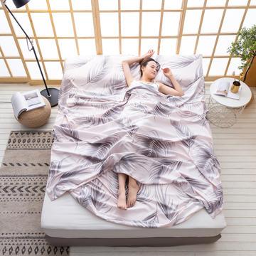 2020新款芦荟棉隔脏旅行睡袋
