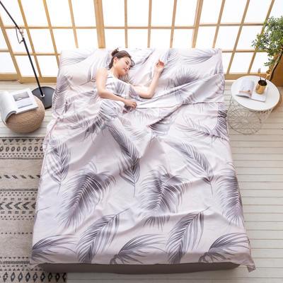 2020新款芦荟棉隔脏旅行睡袋 酒笙160*215cm