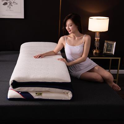 2020新款乳胶床垫 0.9*1.9m/0.9*2m 波浪-白6cm