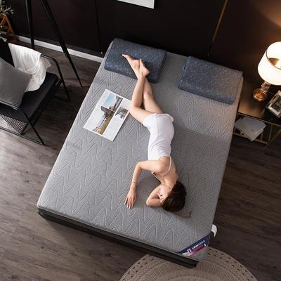2020新款乳胶床垫 0.9*1.9m/0.9*2m 波浪-灰2cm
