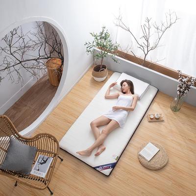 2020新款乳胶床垫 0.9*1.9m/0.9*2m 经典-白6cm