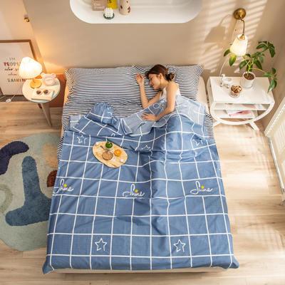 2020新款128*68纯棉隔脏旅行睡袋1 舒雅风情80*215cm