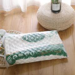 2018平滑乳胶枕  40*60cm 平滑乳胶枕