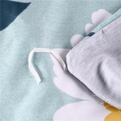 2019  13070全棉单品被套 160x210cm 米兰物语