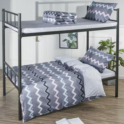 13070  全棉三件套學生三件套宿舍三件套單人床三件套 1.2m(4英尺)床 魅力綻放