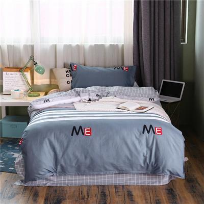 全棉學生宿舍三件套單人床三件套 1.2m(4英尺)床 暮光之城