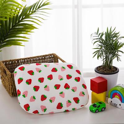 微枕芯 婴儿乳胶定型枕  30*25cm 草莓/只