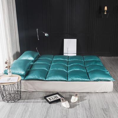 2018新款-杜邦纤维床褥子 150*200cm 松石绿