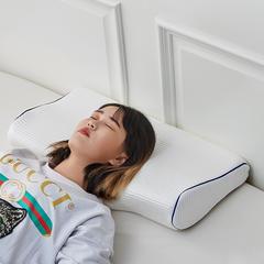 2018新款-royalvip天然乳胶颈椎凸枕 60*34cm/只