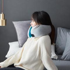 2019新款-高档鸵鸟U型旅行颈椎枕 直径13cm,长度 31cm/只