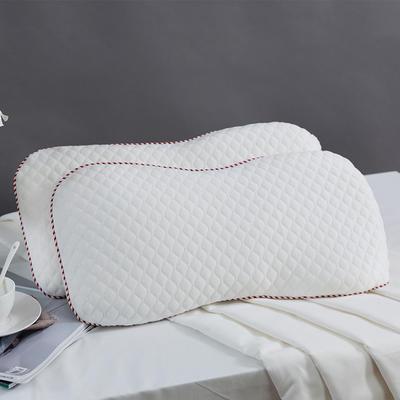 2019新款-高档亲水棉糖果婴儿枕 50*25*20cm 白色/只