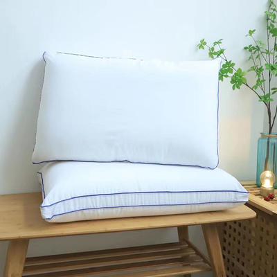 微枕芯特价立体热熔棉枕头 可水洗成人护颈枕芯 白色48*74/10-12