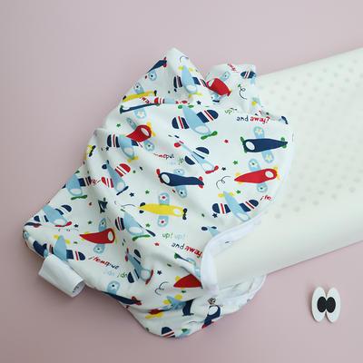 (新)泰国原液进口宝宝乳胶枕 2-12岁儿童乳胶枕芯 换洗枕套备注颜色