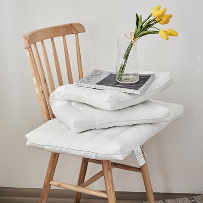 新款全棉薄款超柔羽丝绒低枕头 单人颈椎矮枕芯儿童低枕头 成人款/48*74cm