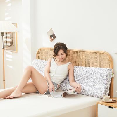 2021新款-泰国天然乳胶双人枕150cm*40cm/10-12cm(适用1.5-1.8米床) 情侣人双枕/只