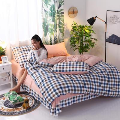2018新款针织棉四件套 1.5m(5英尺)床 简爱