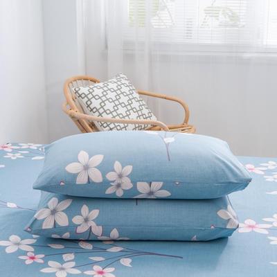 2020新款全棉12868系列-单品枕套 48cmX74cm/对 花溪