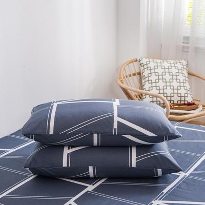 2020新款全棉12868系列-单品枕套 48cmX74cm/对 克鲁尼