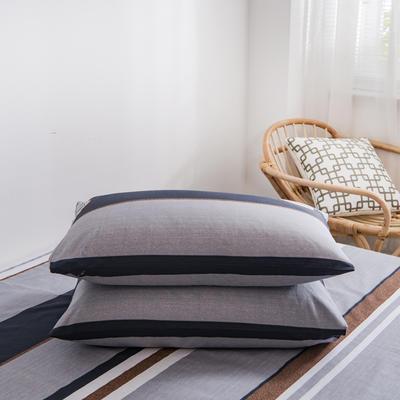2020新款全棉12868系列-单品枕套 48cmX74cm/对 浪漫庄园