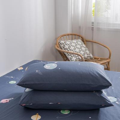 2020新款全棉12868系列-单品枕套 48cmX74cm/对 流浪地球