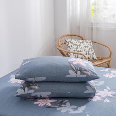 2020新款全棉12868系列-单品枕套 48cmX74cm/对 西塞尔