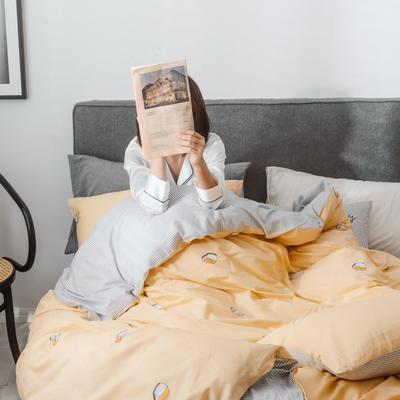 2019新品全棉130*70四件套 三件套1.2m(4英尺)床 寿司