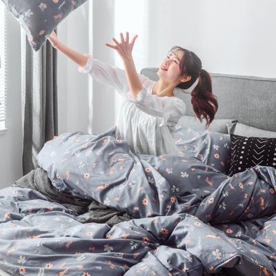 2019新品全棉130*70四件套 三件套1.2m(4英尺)床 悠闲生活