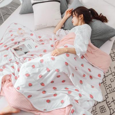 2019新款-凉感夏被 150x200cm 草莓