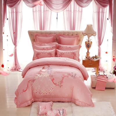 婚庆爱的嫁衣 1.5m(5英尺)床 四件套