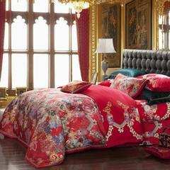 婚庆米拉贝尔 1.5m(5英尺)床 六件套