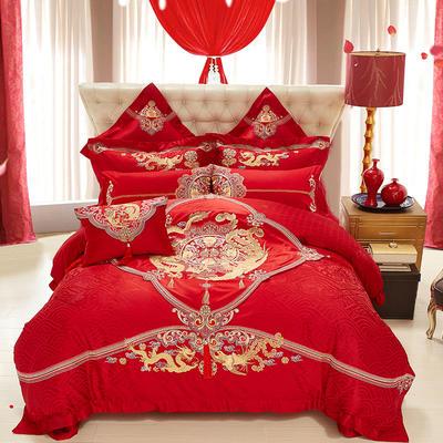 婚慶十全十美 1.5m(5英尺)床 四件套