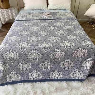 2020新款纯棉3层纱多功能毯子 2.0m*2.3m 1