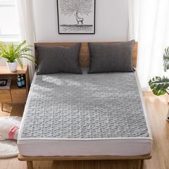2018冬季多功能软床垫 1.5x2.0 烟灰