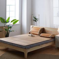 2018新款可折叠竹席 枕套一只 可折叠竹席
