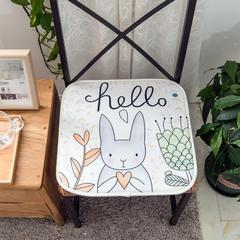长腿先森  电脑椅垫 学生坐垫 飘窗垫 40X40cm 爱心兔