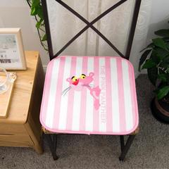 长腿先森  电脑椅垫 学生坐垫 飘窗垫 40X40cm 粉红豹