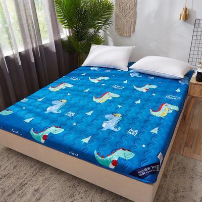 2019新款水洗棉床垫加厚6cm 90*200cm 恐龙乐园