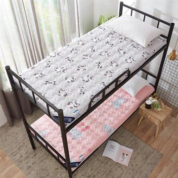 2019新款-网红ins水洗棉印花学生床垫 加厚学生宿舍床垫