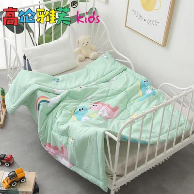 高伦雅芙kids-知悉-水洗棉儿童被 120*150cm2.5斤 恐龙-绿