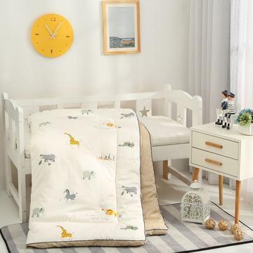 爆款新款-60长绒棉儿童卡通立体大豆纤维秋冬被有通用商标