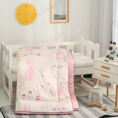爆款新款-60长绒棉儿童卡通立体大豆纤维秋冬被有通用商标 1.5m    4.9斤 梦幻城堡