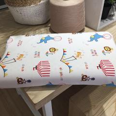 觅蜜   2018新品乳胶卡通儿童枕(44*26*6cm) 马戏团