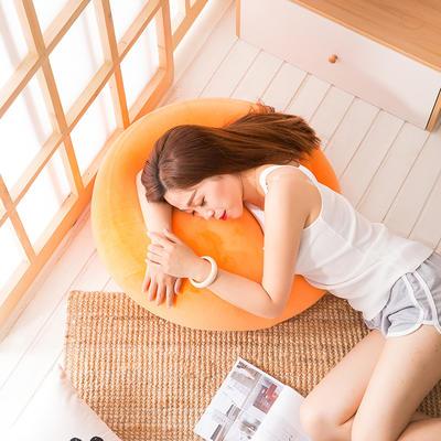 2018新款懒人沙发坐垫 60*35cm 富贵橙