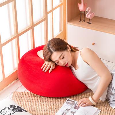 2018新款懒人沙发坐垫 60*35cm 玛瑙红