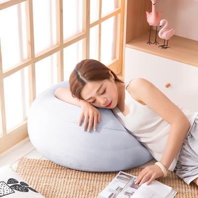 2018新款懒人沙发坐垫 60*35cm 香芋紫