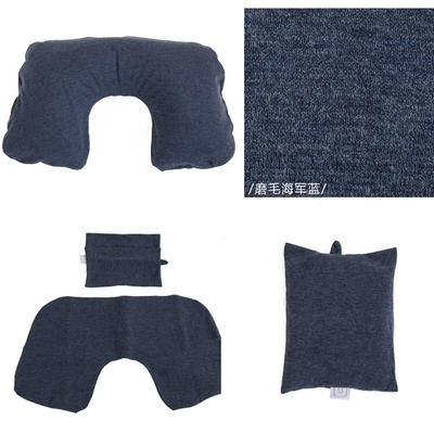 2019新款充气枕 打开:27.5cm *50cm 藏蓝